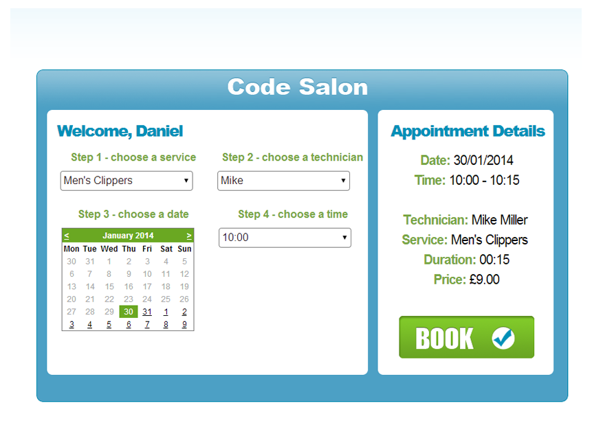 Salon Amp Spa Software Salon Appointment Booking Salonlite